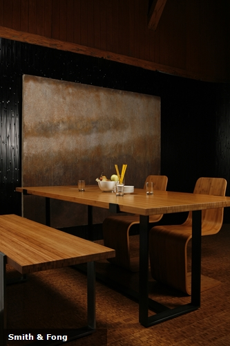 Restaurants are using bamboo as part of the innovation trend that has swept the industry.
