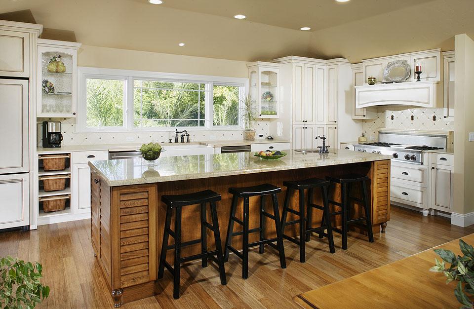 bamboo flooring kitchen - photo #8