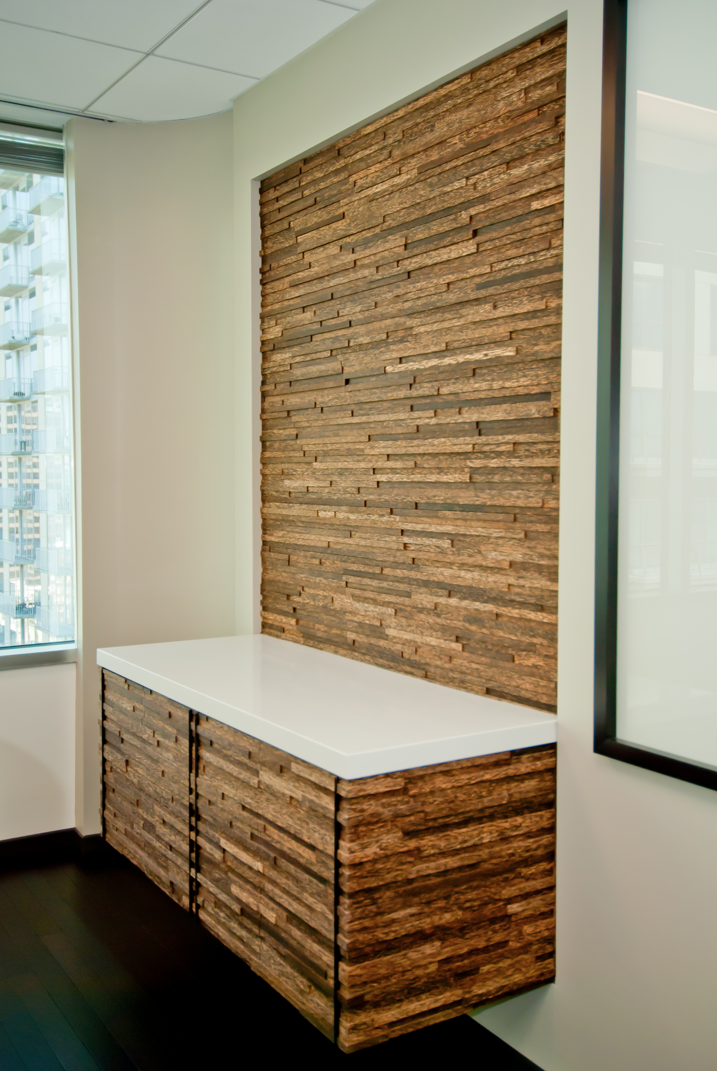 Iq plyboo paneling decopalm - Woven wood wall panels ...
