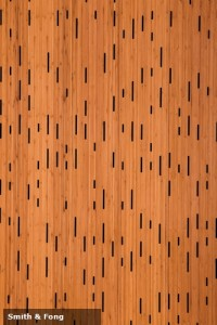 New bamboo panels from Smith & Fong are helping to reduce noise pollution in modern offices.
