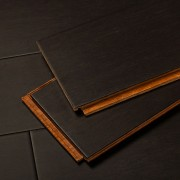 Foundation Brown Edge Grain Bamboo Flooring