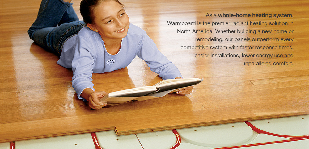 Our Warranty Applies On Projects Using Warmboard Radiant Heat Plyboo