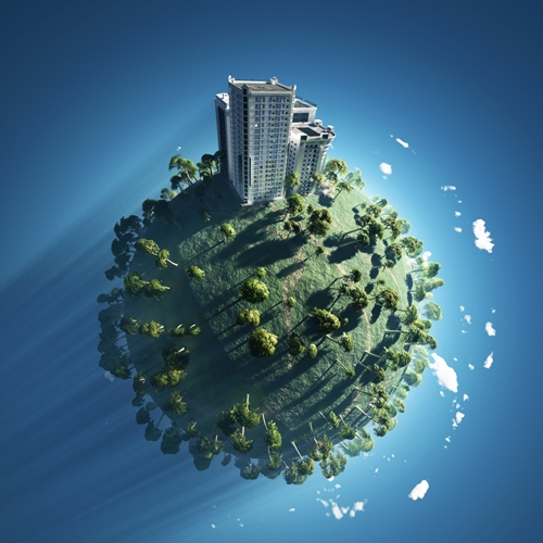 Architects and developers are working together to create environmentally friendly buildings.