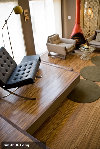 Bamboo floors and panels can be an key design elements as you mesh the old and the new when redesigning your vintage home.