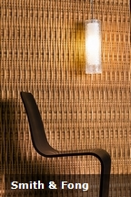 When mixed with modern furniture and lighting, the Reveal Collection of bamboo panels can be an extremely attractive design element.