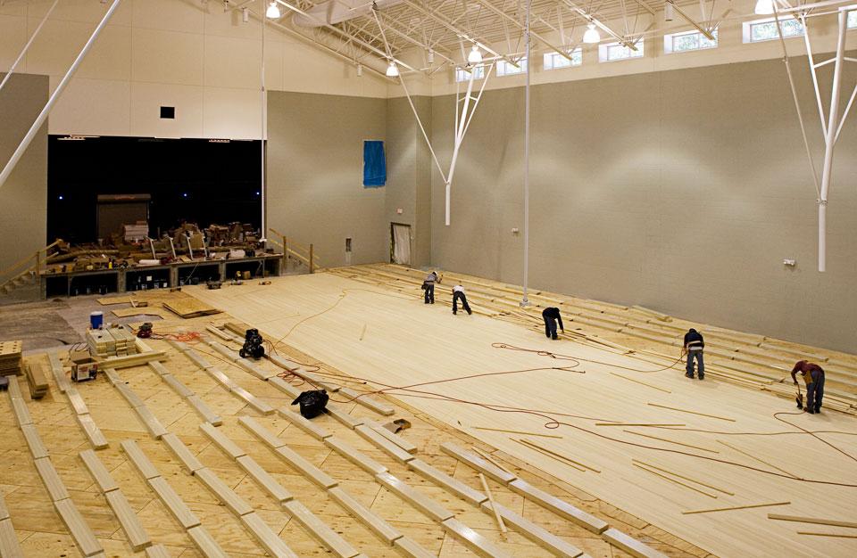 Bamboo Sport Flooring Image Gallery Plyboo