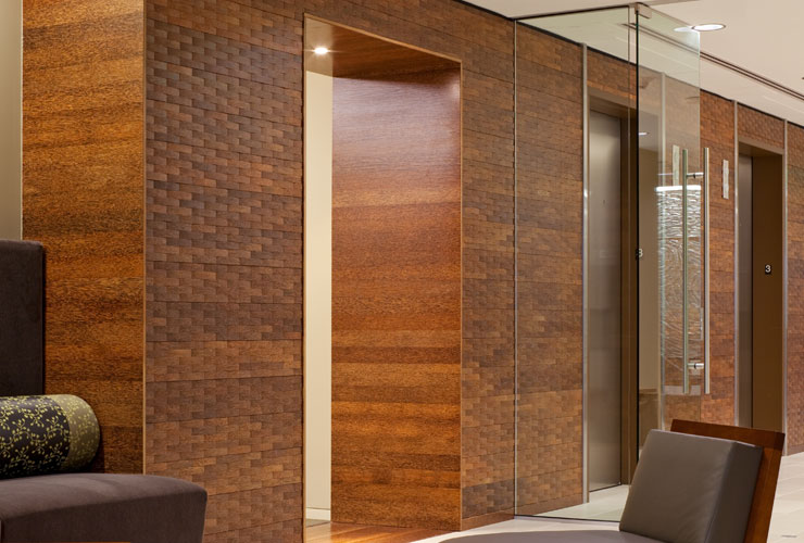 Woven Palm Panel System Plyboo
