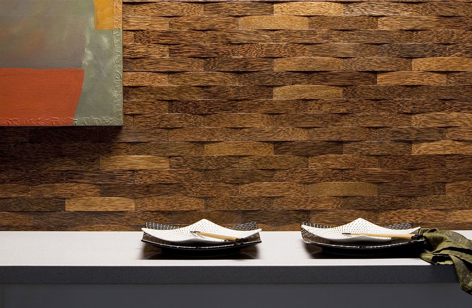 Durapalm deco palm image gallery plyboo - Woven wood wall panels ...