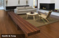 Strand bamboo flooring is both beautiful and sustainable.