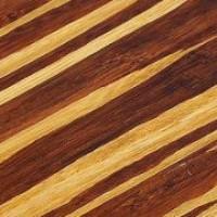 Zebra patterned bamboo flooring: Neopolitan