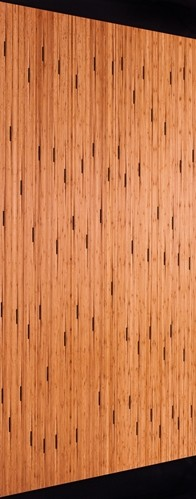 Creating a modern kitchen with bamboo paneling