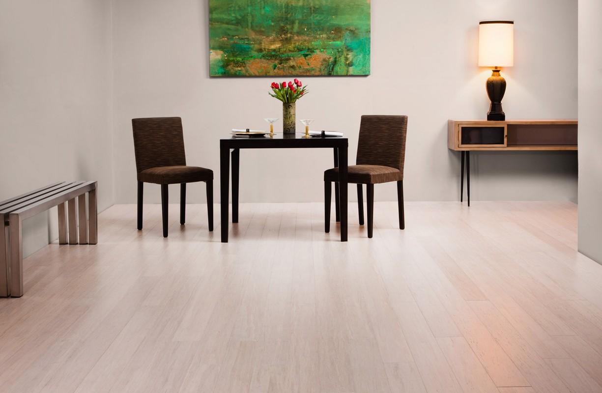 brushed pearl stiletto strand bamboo flooring - Bamboo Laminate Flooring