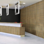 linear collection in office reception room - LL1