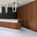 linear collection in office reception room - LL2