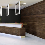 linear collection in office reception room - LL4-Noir