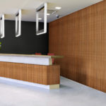 linear collection in office reception room - LL5