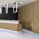 linear collection in office reception room - LL6