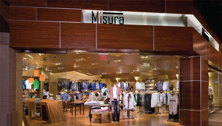 Misura, Men's Apparel