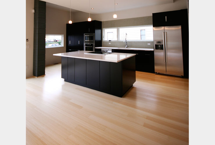 Plyboo Edge Grain Bamboo Flooring